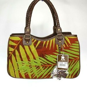 Women's Tropical RELIC Handbag Purse NEW WITH TAGS